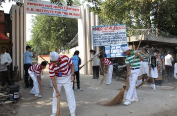 Shram Daan Activity on Gandhi Jayanti