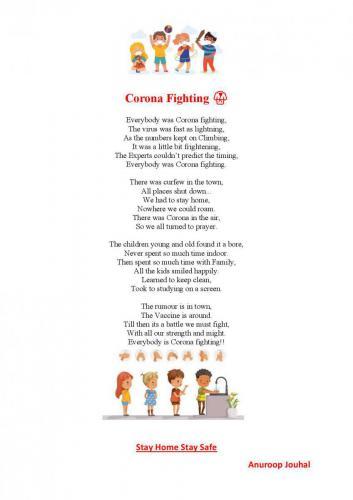 Poem by Ms. Anuroop Jouhal