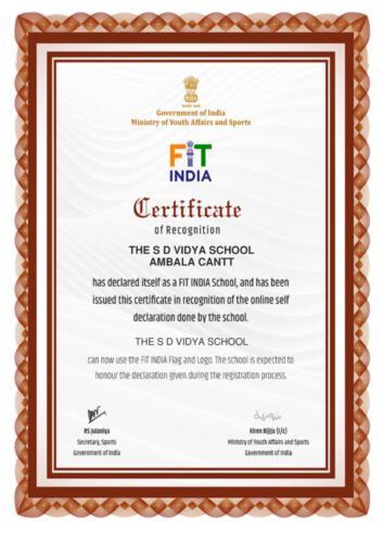 FIT India School